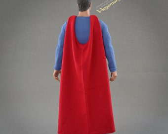 1/6th scale custom costume parts inspired by George Reeves Superman