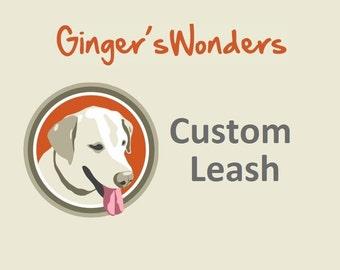 Custom Ginger'sWonders Leash