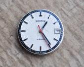Vintage Soviet wrist watch movement.