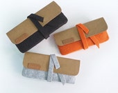 Suckerpouch : Stationery Pouch, Eyeglass Pouch, Make-up Pouch, Travel Wallet, Toiletry Bag, Felt Pouch, Kraft Paper Pouch