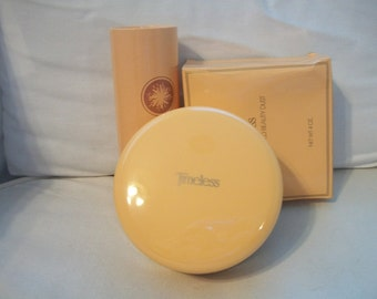 Vintage Avon Timeless Ultra Perfumed Beauty Dust And Talc