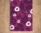 Weekly Planner - Purple Winter Floral