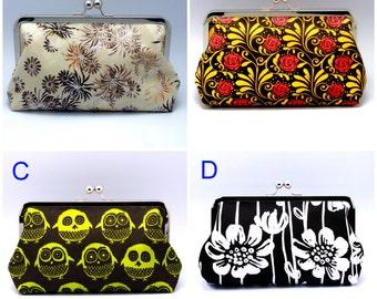 BIG SALE - Large clutch purse (GP3)
