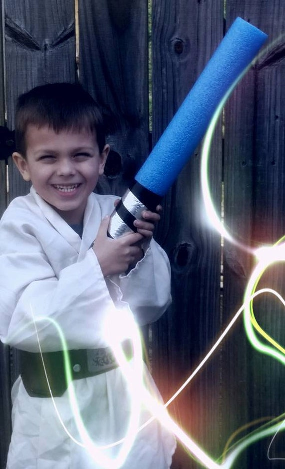 10 Star Wars Inspired Pool Noodle Light Sabers Party Favors
