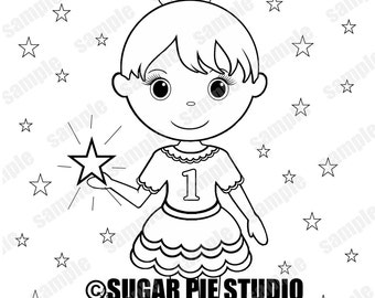 spa party coloring pages - photo#34
