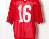 Huge Vintage Number 16 Football Jersey - Champion