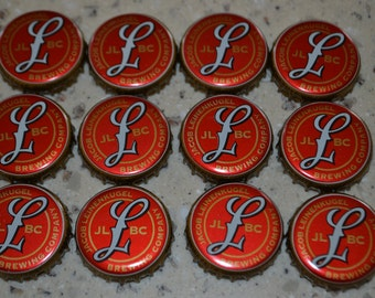12 Leinenkugel Original Beer Bottle Caps Leinie's Wisconsin Craft -no dents
