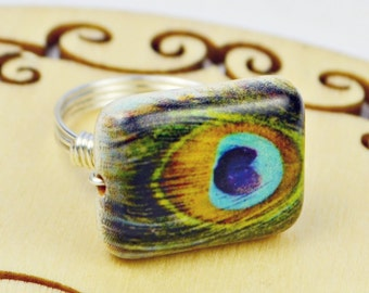 unique peacock related items etsy