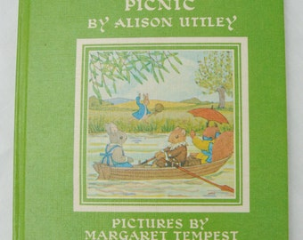 Children's Book 'Water-Rats Picnic' by Alison Uttley with Pictures by Margaret Tempest