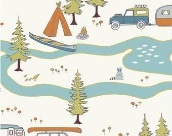 Camp Sur Main From Birch Organic's Camp Sur Fabrics - Choose Your Cut