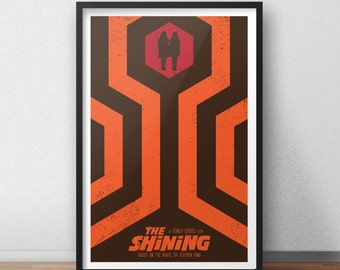 The Shining - 12 x 18 inches - Horror Movie - Stephen King - Stanley Kubrick