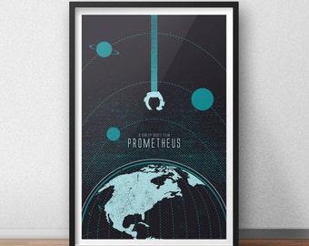 Prometheus Movie Print - 12 x 18 inches - Alien