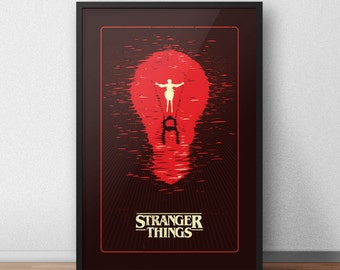 Stranger Things Poster - 12 by 18 Inch Print - Eleven