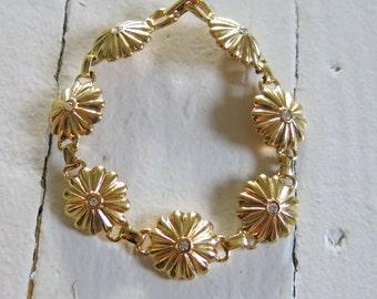 Gold colored vintage bracelet
