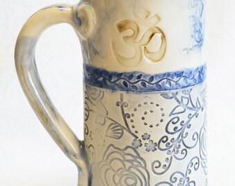 Ceramic mug 20oz Om symbol 20B052