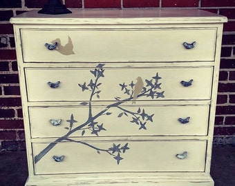 Hand Painted (Bernhardt) Chest of Drawers  Sale* Sale * Sale