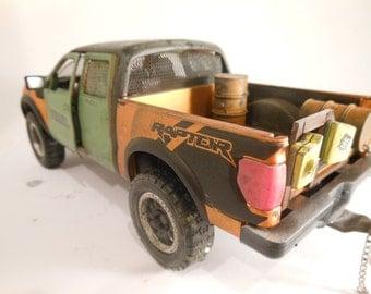 Rat Rod, Rusted, Scale Model Car , Classicwrecks,Road Warrior