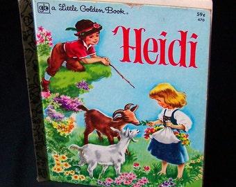 Vintage Children's Book - Heidi