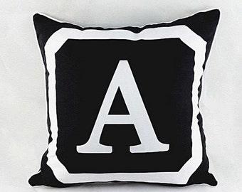 Monogram Letter Pillow