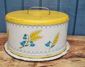 RESERVED - Vintage Cake Carrier - Vintage Cake Pan