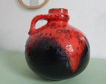 Gerda Heuckeroth - Vase for Carstens 'Atelier' Series - Marked C 236-20 (1962-64)