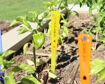 Peppers GARDEN ART STAKES Add Artistic Color and Flair to your Garden!