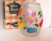 Frosted Gay Fad Cookie Jar Made by Bartlett Collins from the 50's