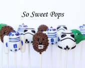 So Sweet Pops Happily Made Galactic Inspired Cake Pops