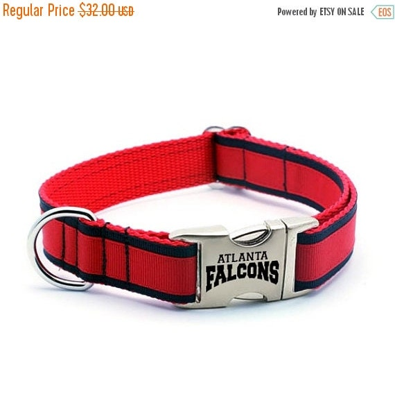 Heavy Duty Falcons Dog Collar