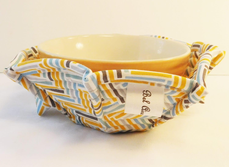 Microwave Bowl Cozy Soup Bowl Cozy Pot Holder Soup Bowl