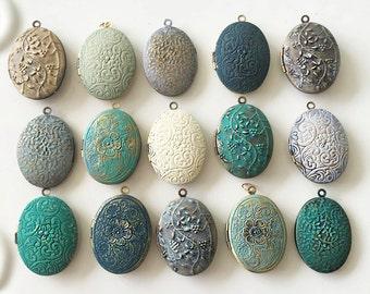 Locket, Customised Locket Necklace, Wedding Jewellery, Personalised Locket, Custom Locket, Bridesmaid Necklace, Vintage Oval Lockets