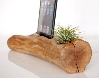 iPad Mini Docking Station - plant pot - iPad mini 2 dock - iPad mini 3 dock - iPad mini 4 dock - air plant holder