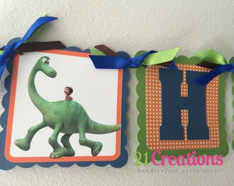 The Good Dinosaur Party Banner