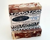 Cashmere and Silk Handcrafted Artisan Shea Butter Soap - made with real silk