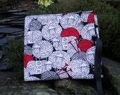 Circular Knitting Needle Case. Sheep fabric.