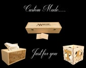 Custom Unfinished Oak Box- Custom listing for elizabethheim11