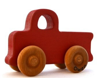 Personalized Truck Toy - Pick Any Color - Toy Pickup Truck