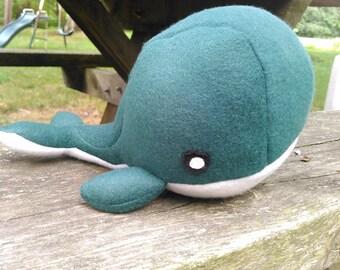 Glenn the Dark Green Whale