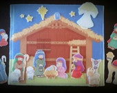 Nativity flannelboard (SPECIAL deal price)