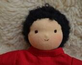 boy doll, waldorf doll, handmade doll, little boy doll, doll with clothes