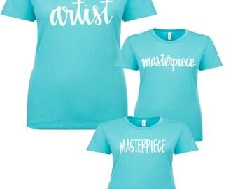 Artist/Masterpiece Shirt