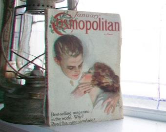 Cosmopolitan Magazine January 1913 Antique Mag