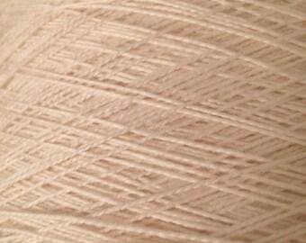 "Fingering Weight, ""natural"" Merino Wool undyed Superwash Yarn, 4 oz, machine washable yarn"