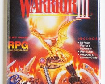 Dragon Warrior 3 Video Game Fridge Magnet