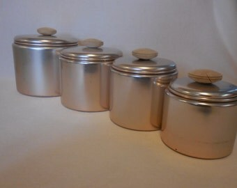 Coppertone Aluminum Canisters by Mirro