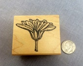 Flower Top Rubber Stamp