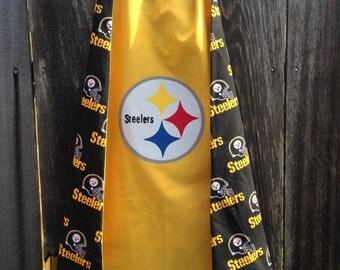Custom Pittsburgh Steelers Cape - Handmade and Reversible