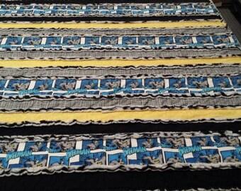 Batman Rag Baby Quilt Blanket Zebra