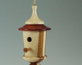 Christmas Tree Bird House Ornament
