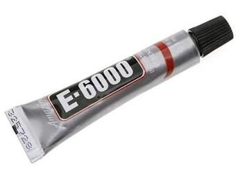 Mosaic Glue E-6000 TINY Tube .18 Ounce Craft Adhesive